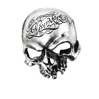 B93 - Nevermore Skull Buckle