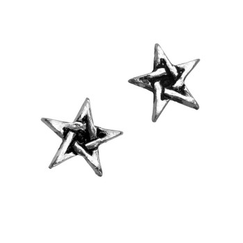 E164 - Pentagram Earrings