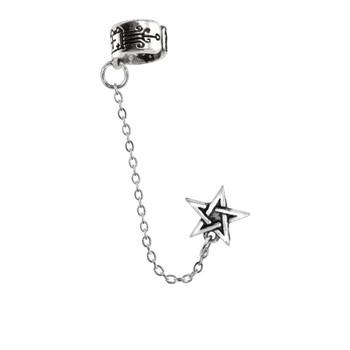 E196 - Pentagram Ear Cuff