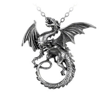 P323 - The Whitby Wyrm Pendant