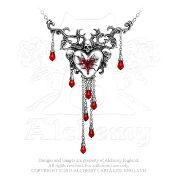 P550 - Bleeding Heart Necklace