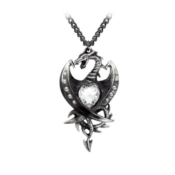 P609 - Diamond Heart Pendant