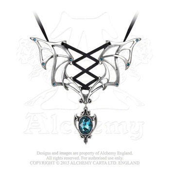 P667 -  Vampires Corset Necklace