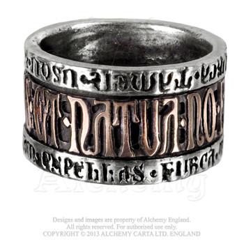 R73 - Deus Et Natura Ring