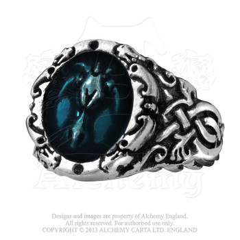 R86 - Dragons Celtica Ring