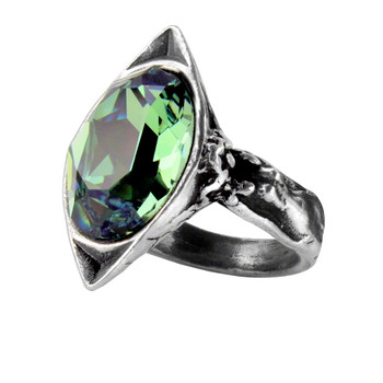 R120 - Absinthe Fairy Spirit Crystal Ring