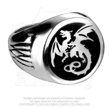 R154 - Wyverex Dragon Signet Ring