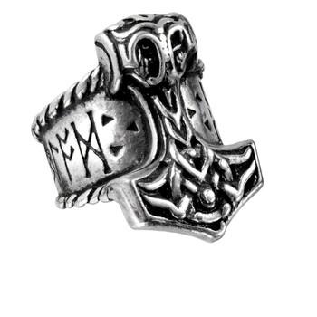 R171 - Thor's Runehammer Ring