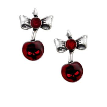 ULFE20 - Black Cherry Earrings