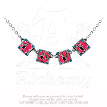 ULFP12 - I Love, I Hate Necklace