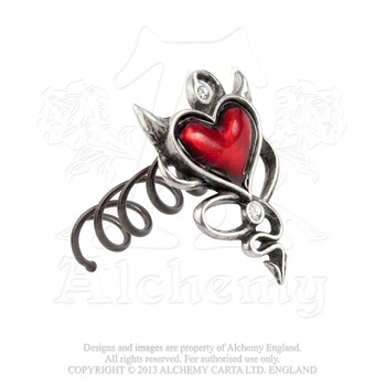 ULFHSC1 - Devil Heart Hair Screw