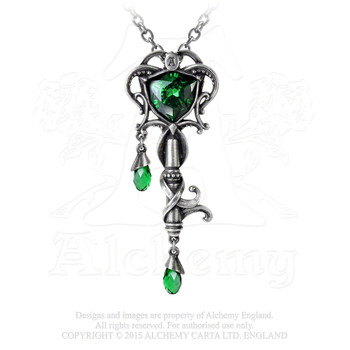 P718 - Key to the Secret Garden Necklace