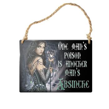 ALHS4 - One Man's Poison Sign
