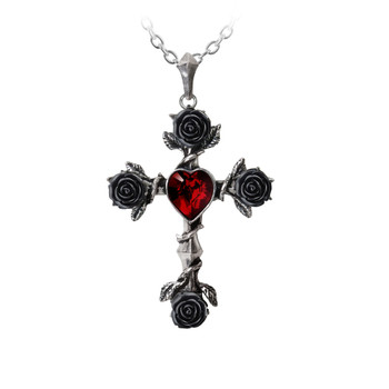 P758 - Black Rosifix Necklace