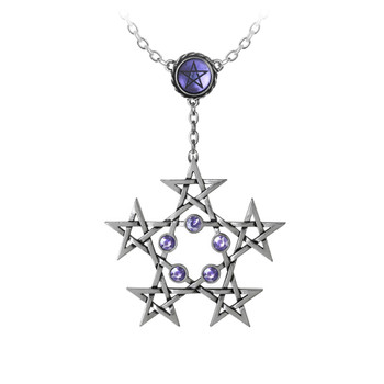 P761 - PentaGramatron Necklace