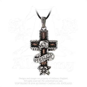 ULP45 - Mercy Cross Pendant