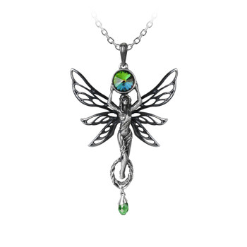 P763 - The Green Goddess Pendant