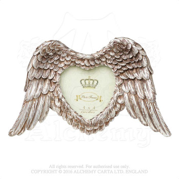 SA4 - Winged Heart Photo Frame