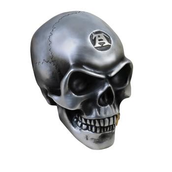 V41 - Large Metalized Colored Skull