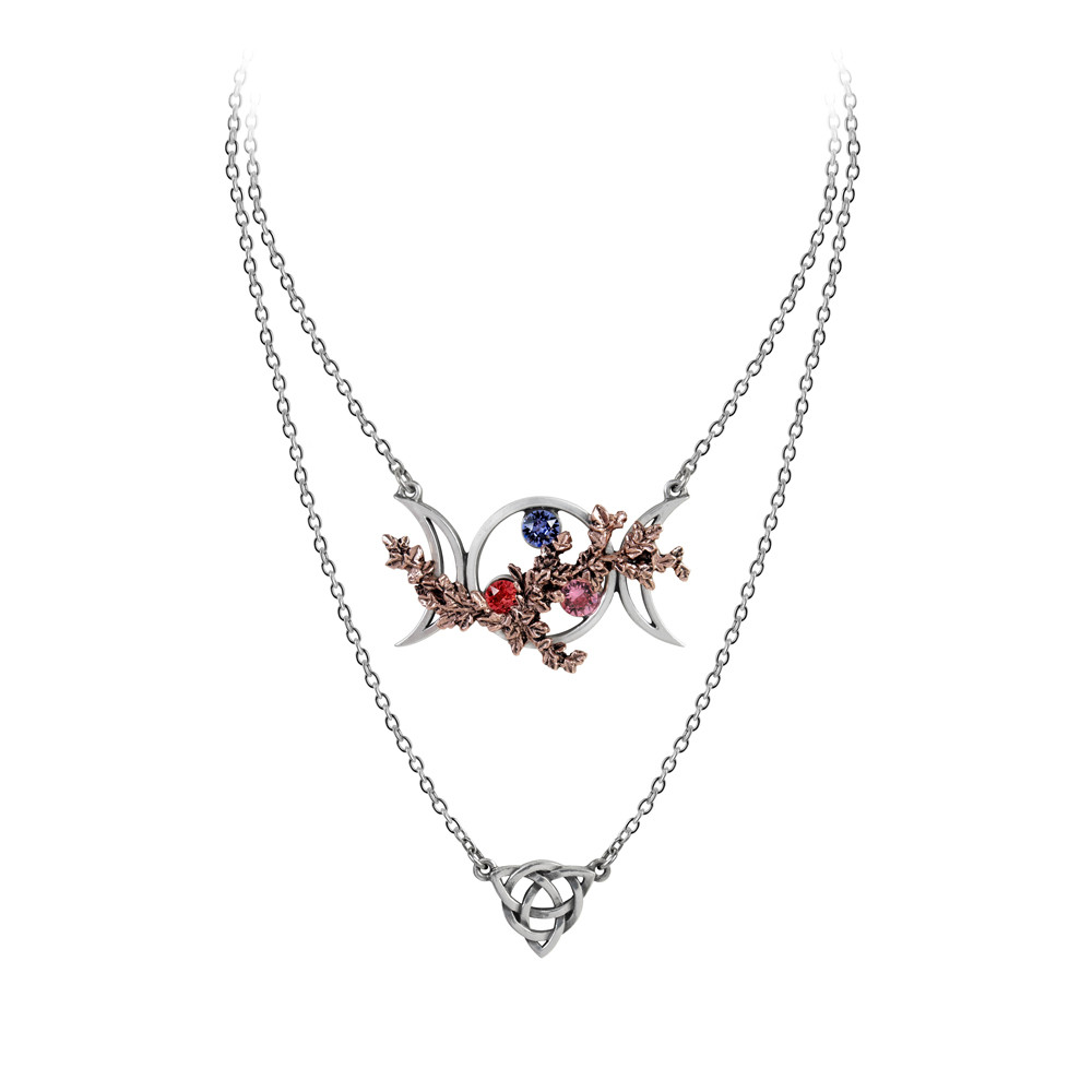 P785 Wiccan Goddess Of Love Necklace Alchemy Of England