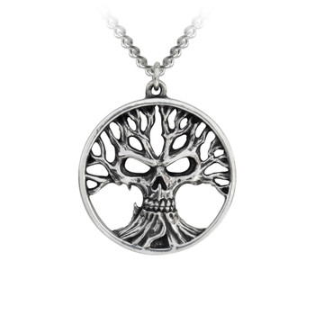 P793 - Gothik Tree of Death Pendant