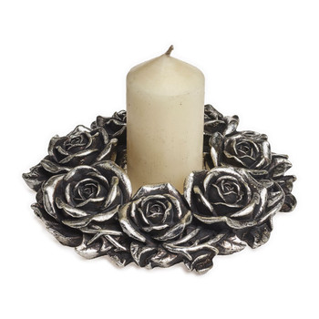 V65 - Black Rose Wreath
