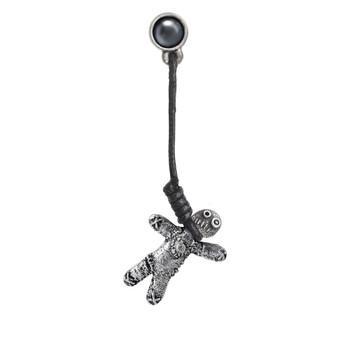 E408 - Voodoo Doll Earring