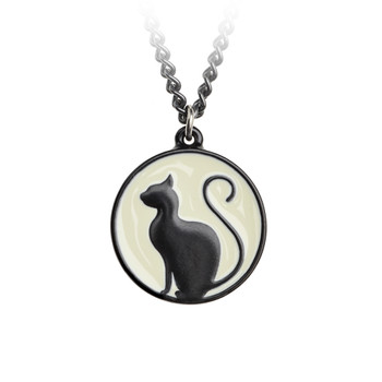 P824 - Meow at the Moon Pendant