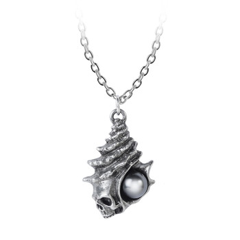P861 - The Black Pearl of Plage Noire Pendant