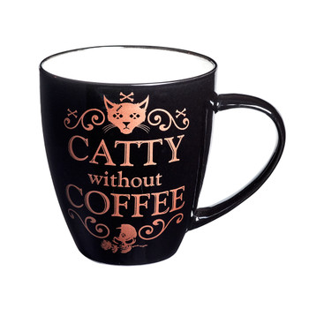 ALMUG7 - Catty Without Coffee Mug
