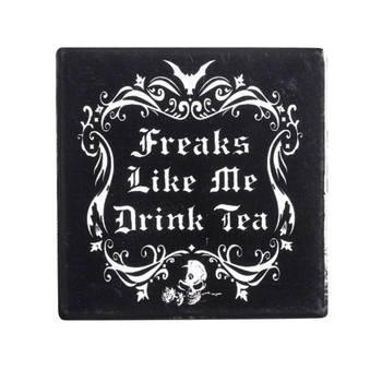 CC5 - Freaks Like Me Drink Tea Coaster