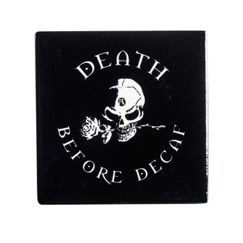 CC7 - Death Before Decaf Coaster