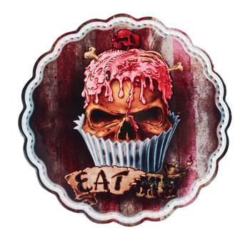 CT7 - Skull Cupcake Trivet