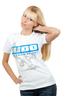 JUDO WORLD CUP Womens T- shirt 1/2 White