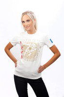 JUDO OLYMPIC SPORT 2012 Womens T- shirt 1/2 White