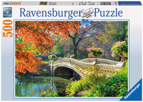 Ravensburger Romantic Bridge Ravensburger has something for everyone! It's autumn at the Romantic Bridge puzzle from Ravensburger, a work of art!    Since 1891 they have been producing the finest puzzles in Ravensburg, Germany. It's the attention to detail which makes Ravensburger the world's finest puzzle brand! With an exclusively developed, thick cardboard, combined with fine linen-paper to create a glare-free puzzle. Their steel cutting tools are designed and crafted by hand. This is why no two pieces are alike.  Barcode: 400555614231