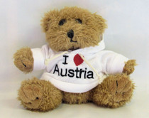 'I love Austria' Plush bear