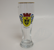 Muenchen 0.5 Liter Wheat Beer Glass