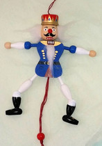 Nutcracker Blue Hampelmann (Jumping Jack) (2421)