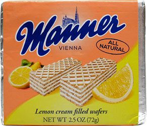 Manner Lemon Cream Wafers