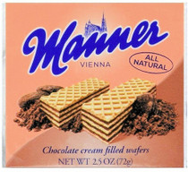 Manner Chocolate Cream Wafers