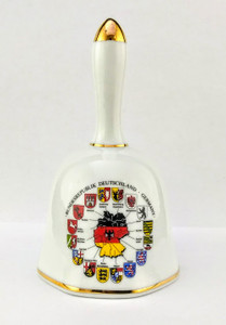 Porcelain Hand Bell - Germany cities