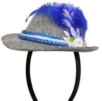 Bavarian Headband Mini 'Alpen' Hat