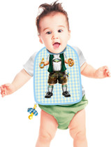 Itati Funny Bavarian German Baby Boy Bib