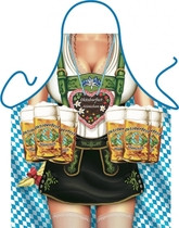 Itati Funny Apron Cooking BBQ Bavarian Specialties Frankenmuth