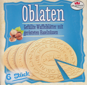 Oblaten, Wafer, Dr. Quendt imported from Germany
