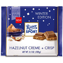 Ritter Sport Winter Edition Hazelnut Creme + Crisp