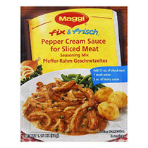 Maggi Pepper Cream Sauce Sliced Meat