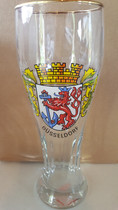 Dusseldorf 0.5 Liter Wheat Beer Glass