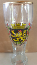 Heildelberg 0.5 Liter Wheat Beer Glass